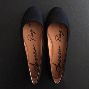American Rag Suede Flats — NEW!